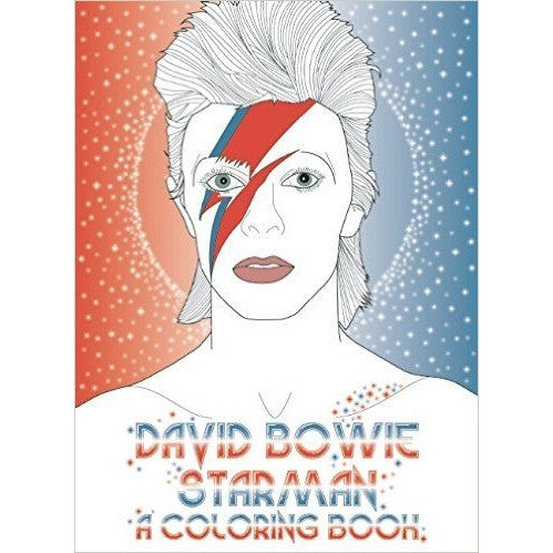 David Bowie Starman: A Colouring Book