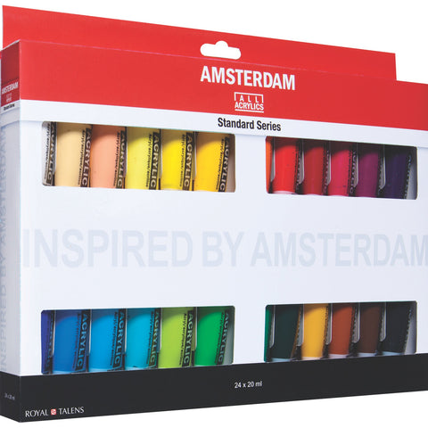 AMSTERDAM Acrylic Paint Set 24X20ml