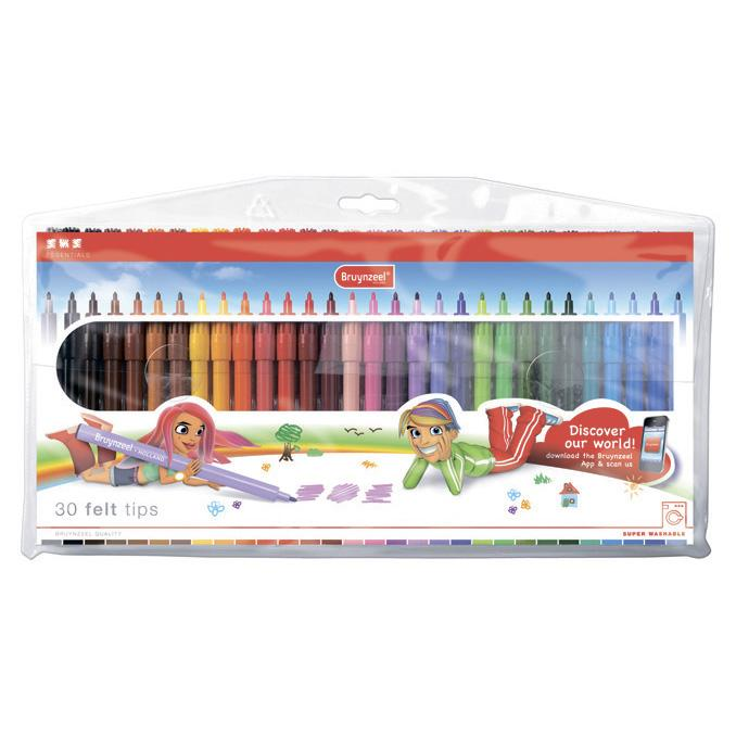 BRUYNZEEL Biy Felt Tips Set 30