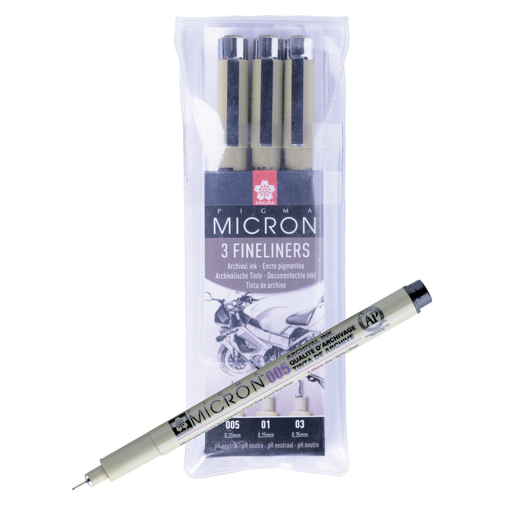 Pigma Micron Design Set 3