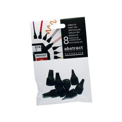 Abstract Set of 8 Nozzles