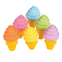 Rex Scented Ice Cream Shaped Erasers