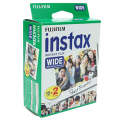 Fuji Instax Film Wide Format Twin Pack (20 Pics) ISO 800