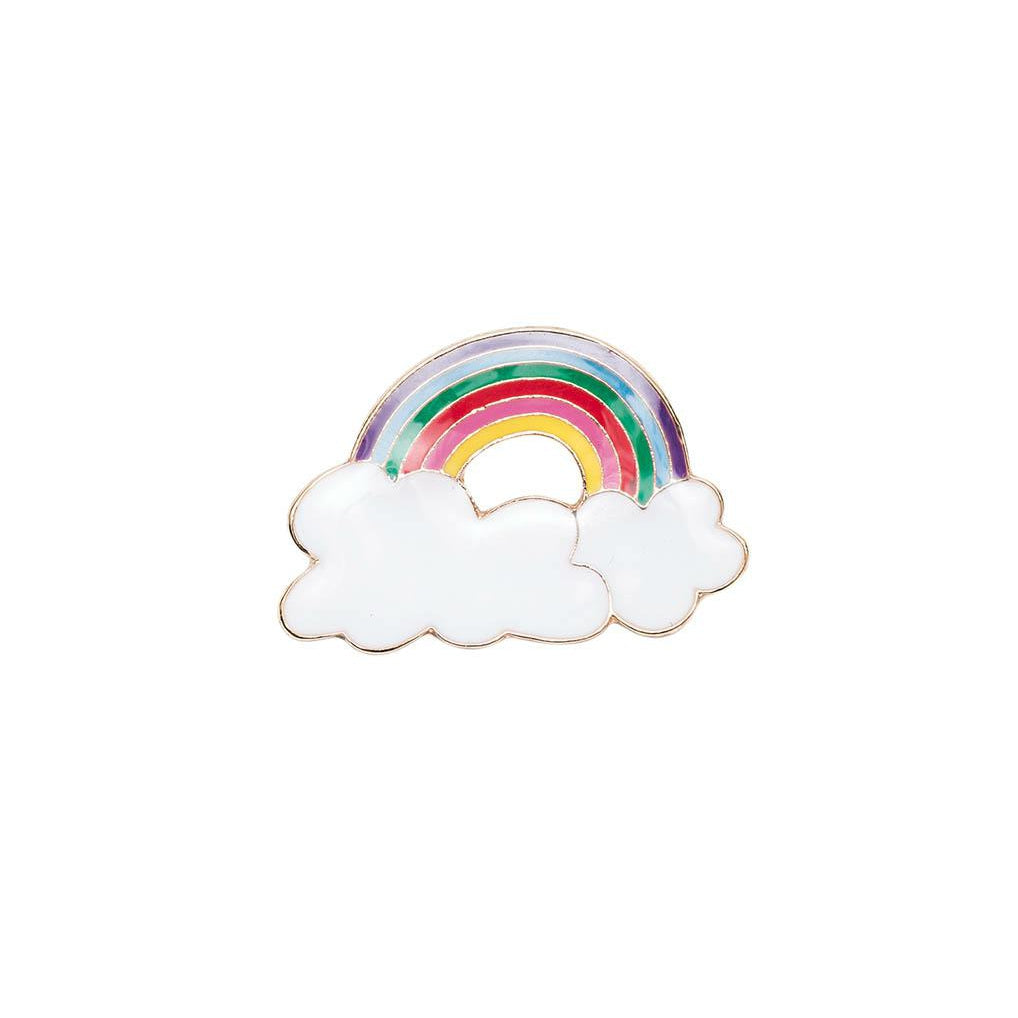 Pin Rainbow With Clouds Multi
