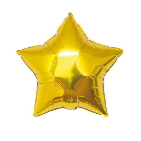 Rico Foil Balloon Star Gold