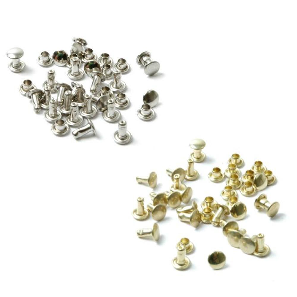 Tubular Rivets 7mm. Pack of 60.