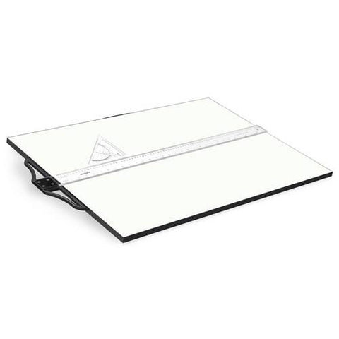 Isomars Drawing Board - Collage with T-Square
