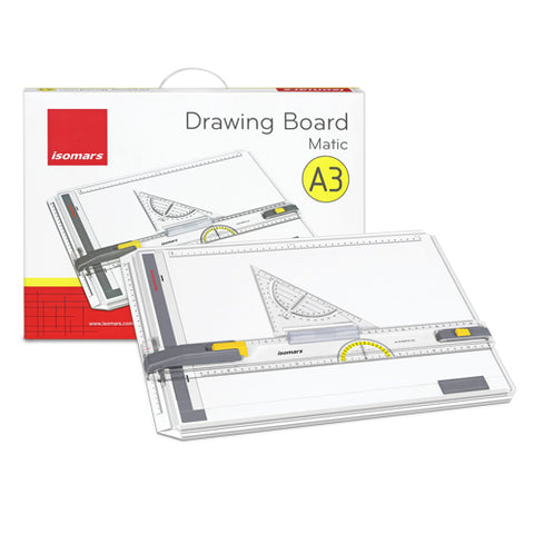 Isomars Drawing Board - MatiX A3 with Triangle
