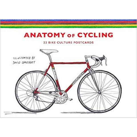 Anatomy Of Cycling: 22 Bike Culture Postcards