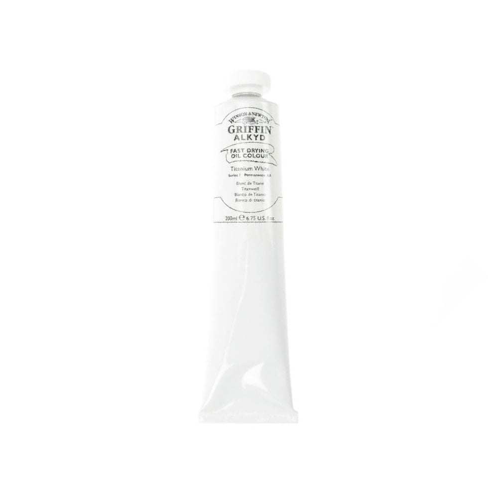 Winsor & Newton Griffin Alkyd Titanium White 200ml