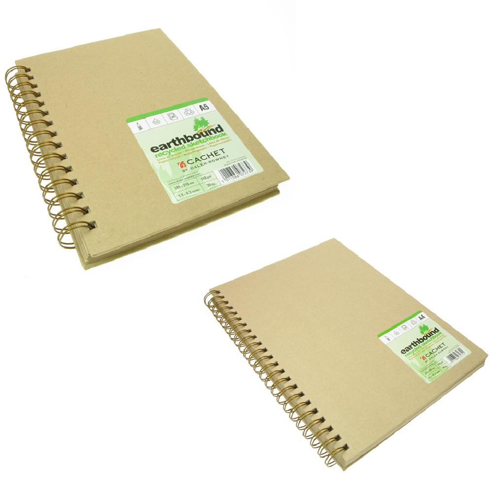 Daler Rowney Earthbound Recycled Sketchbook Wirebound