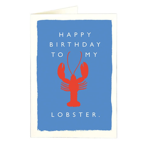 To My Lobster Card