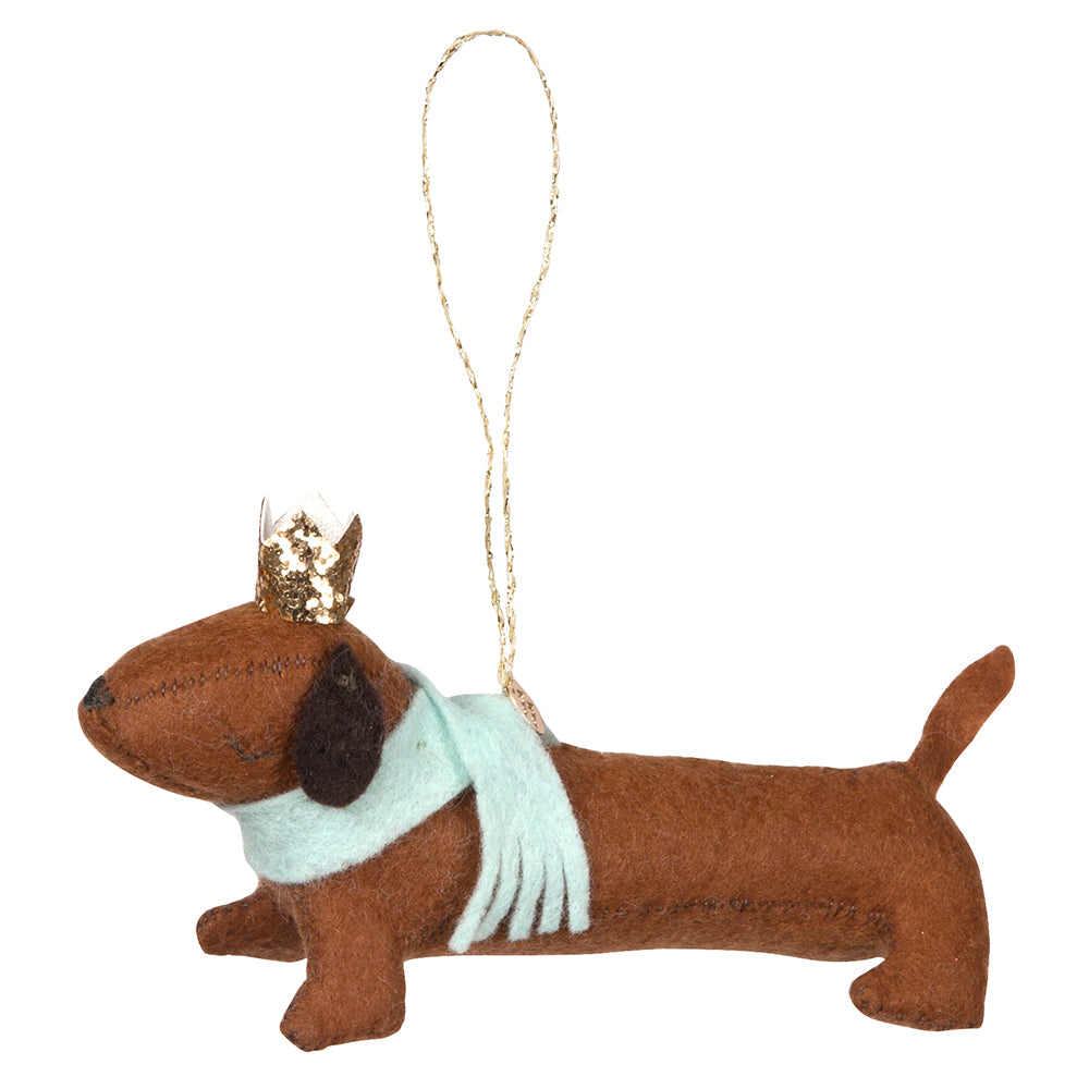 Meri Meri Sausage Dog Decoration