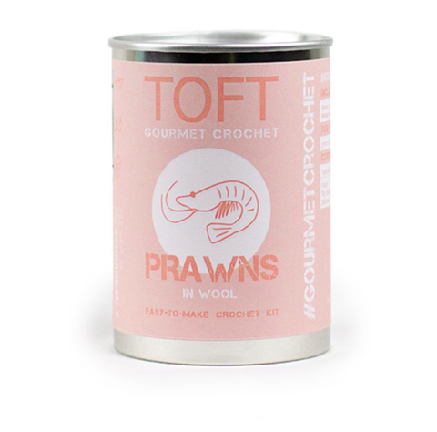 TOFT Prawns in a tin