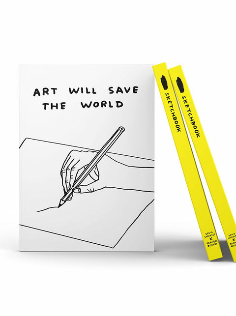 Shrigley Art Will Save The World Sketchbook