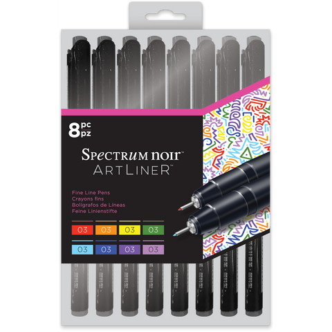 Spectrum Noir Artliner - Bright (8pc)