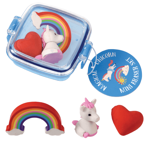 Magical Unicorn Mini Eraser Set