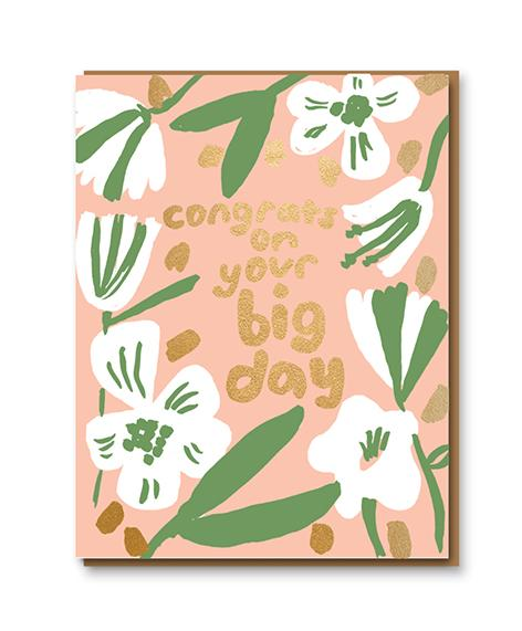 Congrats On Your Big Day card