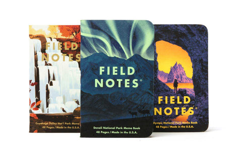 FIELD NOTES National Parks Series E 3-Pack