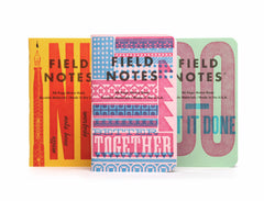 FIELD NOTES UNITED STATES OF LETTERPRESS 3 - Pack