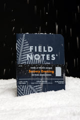 FIELD NOTES Pack of 3 Notebooks - Snowy Evening