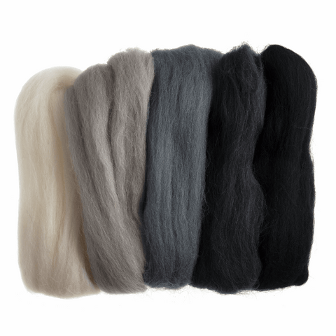 Natural Wool Roving 50g