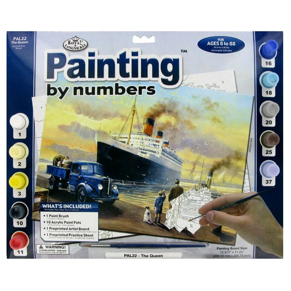 Paint By Numbers Adult Large - Lg Queen Departs