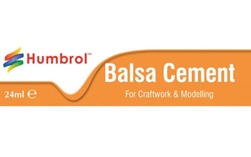 Humbrol Balsa Cement - 24ml Tube