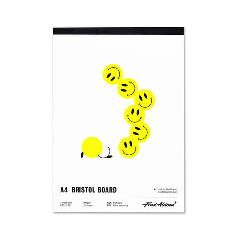 Fred Aldous Bristol Board Pad A4 280gsm