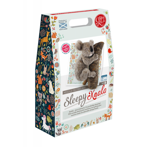 Sleepy Koala Needle Felting Kit