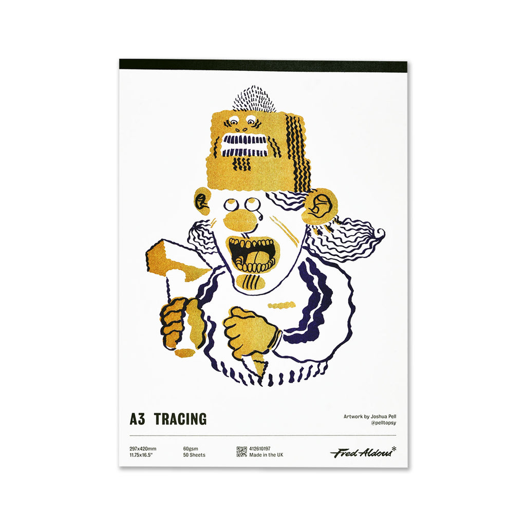Fred Aldous Tracing Pad A3 60gsm