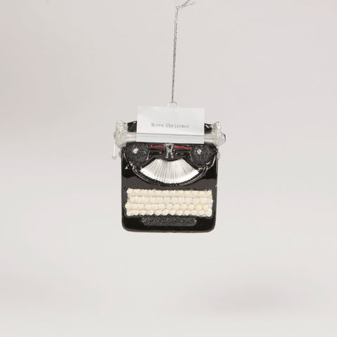 Retro Typewriter Bauble