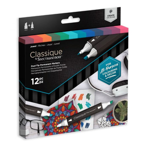 Spectrum Noir Classique Set of 12 Jewel