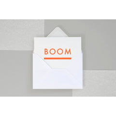 Neon Foil Blocked Card