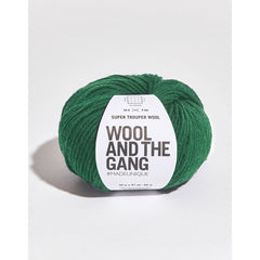 Swampy Green Wool
