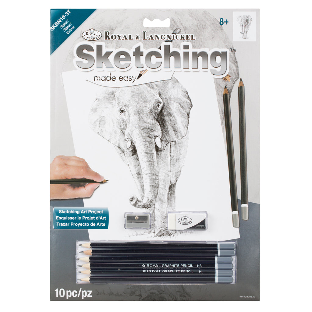 Sketching Made Easy Elephant