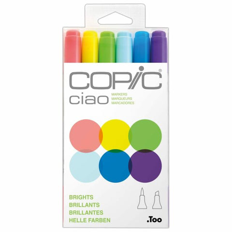 Copic Ciao 6pcs Set - Brights