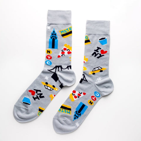 YOW Socks Grey New York
