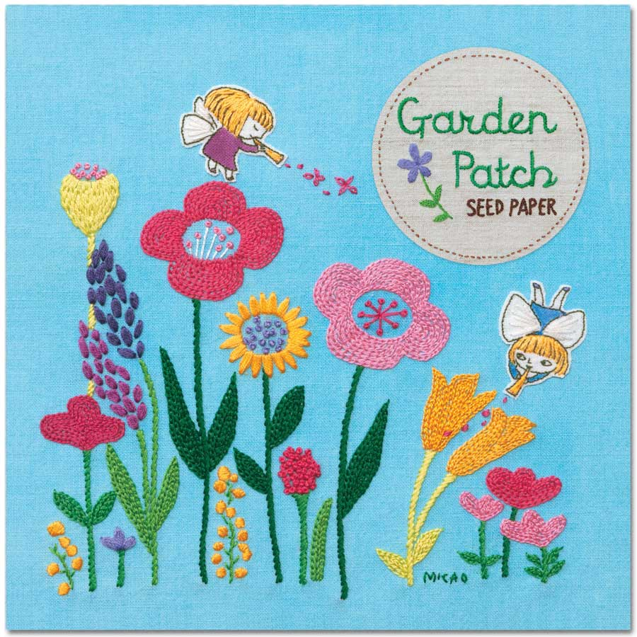 Garden Patch Seed Paper - Mixed Wildflowers