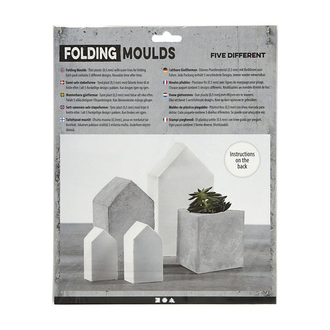 Folding Moulds - Houses