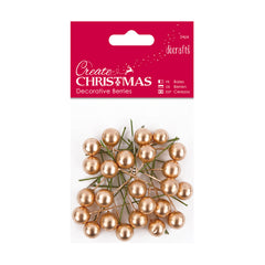Create Christmas - Decorative Berries 24pk