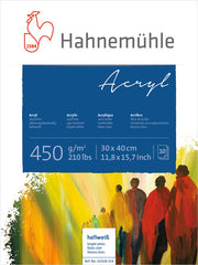 Hahnemuhle Acrylic Paint Board 450gsm 30X40cm
