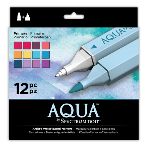 Aqua Markers By Spectrum Noir 12 Pack