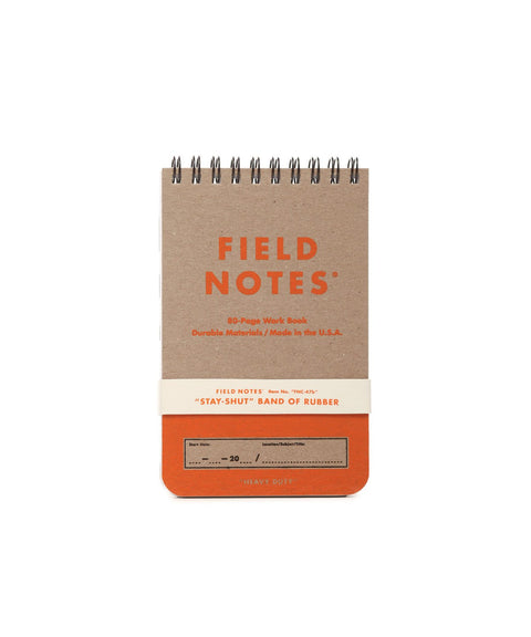 FIELD NOTES Pack of 2 Notebooks - Heavy Duty