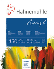 Hahnemuhle Acrylic Paint Board 450gsm 50X64cm