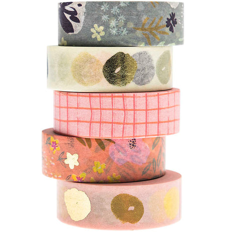 Rico Washi Tape Set Crafted Nature
