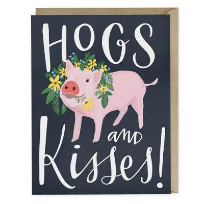 Emily McDowell & Friends Hogs and Kisses Card