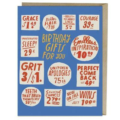Emily McDowell & Friends Store Signs Birthday Card
