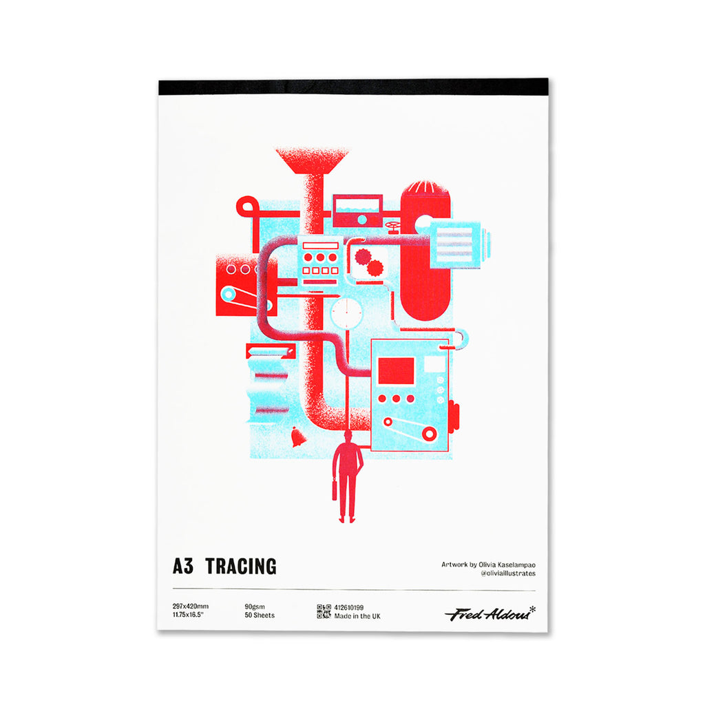 Fred Aldous Tracing Pad A3 90gsm