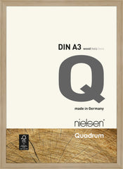 Nielsen Quadrum Wooden Picture Frame Oak
